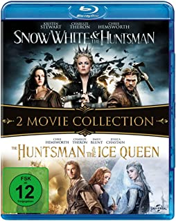 Snow White & the Huntsman / The Huntsman & The Ice Queen [Alemania] [Blu-ray]