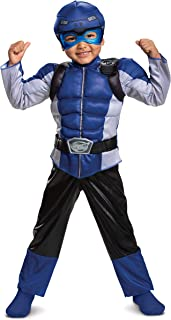 Disguise Blue Ranger Beast Morpher Toddler Boys' Muscle Costume