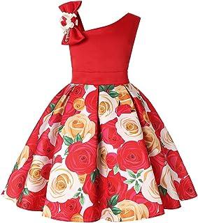 NSSMWTTC 2-10 Years Flower Girls Dresses Kids Formal Floral Dress
