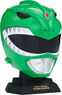 Power Rangers Legacy Mighty Morphin Green Ranger Helmet Display Set