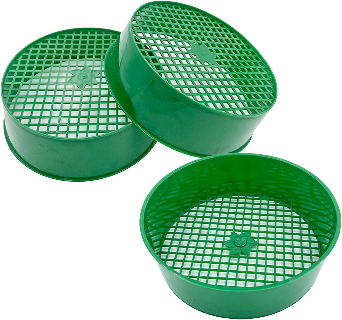 ershixiong Garden Sifting Pan 3PCS 1set New Orleans Mall Riddl Soil Sieve Max 44% OFF