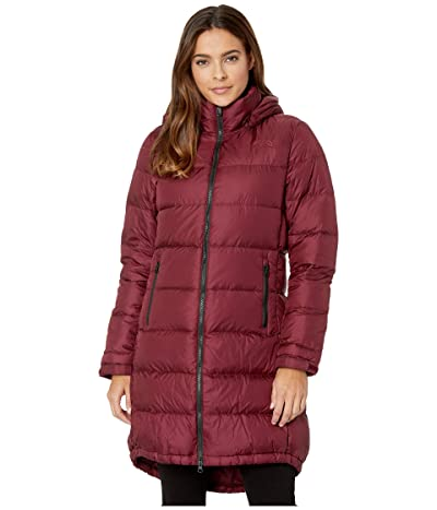 The North Face Metropolis Parka III (Deep Garnet Red) Women
