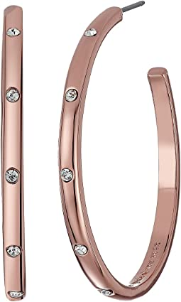 Kate Spade New York Infinity and Beyond Hoop Earrings