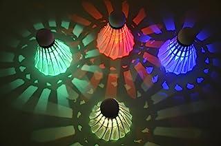 Binnan 4 stuks led-badminton, badminton shuttles verlichting voor outdoor en indoor sportactiviteiten