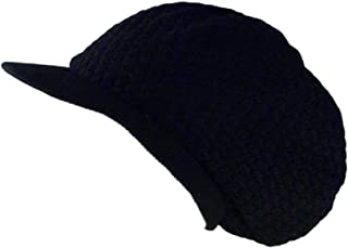 Shoe String King SSK Rasta Knit Tam Hat Dreadlock Cap. Multiple Designs and Sizes.