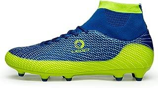 Performance Men's Soccer Shoe Outdoor Soccer Cleat (10 D(M) US, Blue)