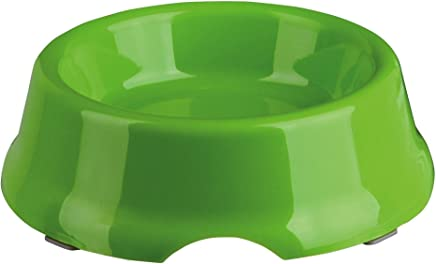 Trixie Light-Weight Plastic Dog Bowl, 10 cm Diameter, Pack of 1 (ASSORTED COLOR)