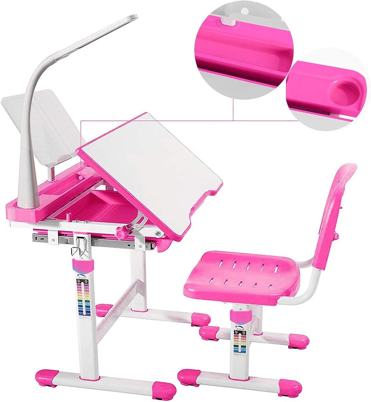 Mecor Kids Desks Height Adjustable Children Chair Desk and Manufacturer direct Max 53% OFF delivery Set