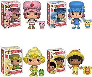 Strawberry Shortcake Orange Blossom, Blueberry Muffin, Lemon Meringue, and Custer Scented Pop! Vinyl Figures! Set of 4