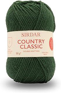 Sirdar Country Classic DK, vert forêt (867), 50 g