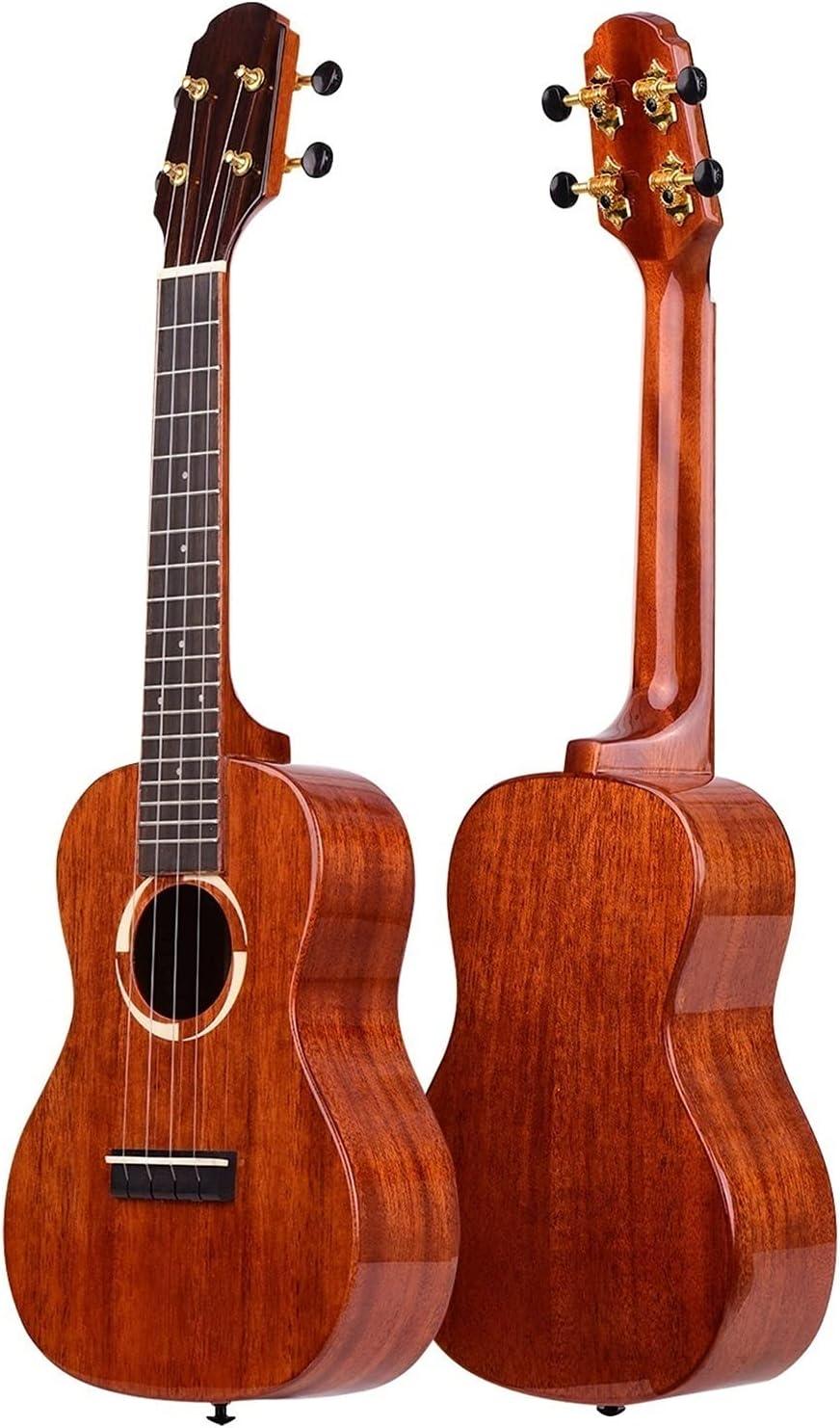 23 Inch Concert Ukulele Solid Wood Varnish Nashville-Davidson Mall Topboard New products, world's highest quality popular! Sur Specular