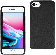 Reiko iPhone 8/ 7 Fuzzy Fur Soft TPU Case In Black