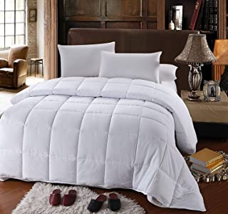 Royal Hotel's OVERSIZED QUEEN Down-Alternative Comforter - Duvet Insert, 100% Down Alternative Fill