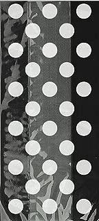 Black Polka Dot Cellophane Bags, 20ct