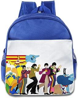 XJBD Custom Superb The Beatles Submarine Children Shoulders Bag For 1-6 Years Old RoyalBlue