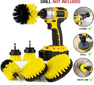 Drill brush, Power cleaning brush head,Power Drill Brush Attachments,6-piece set Drill Brush set