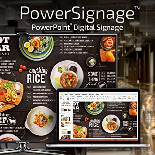 PowerSignage - PowerPoint Digital Signage [1-month subscription]