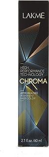 Lakme Chroma Amonia Free Permanent Hair Color 6/65 Chestnut Dark Blonde