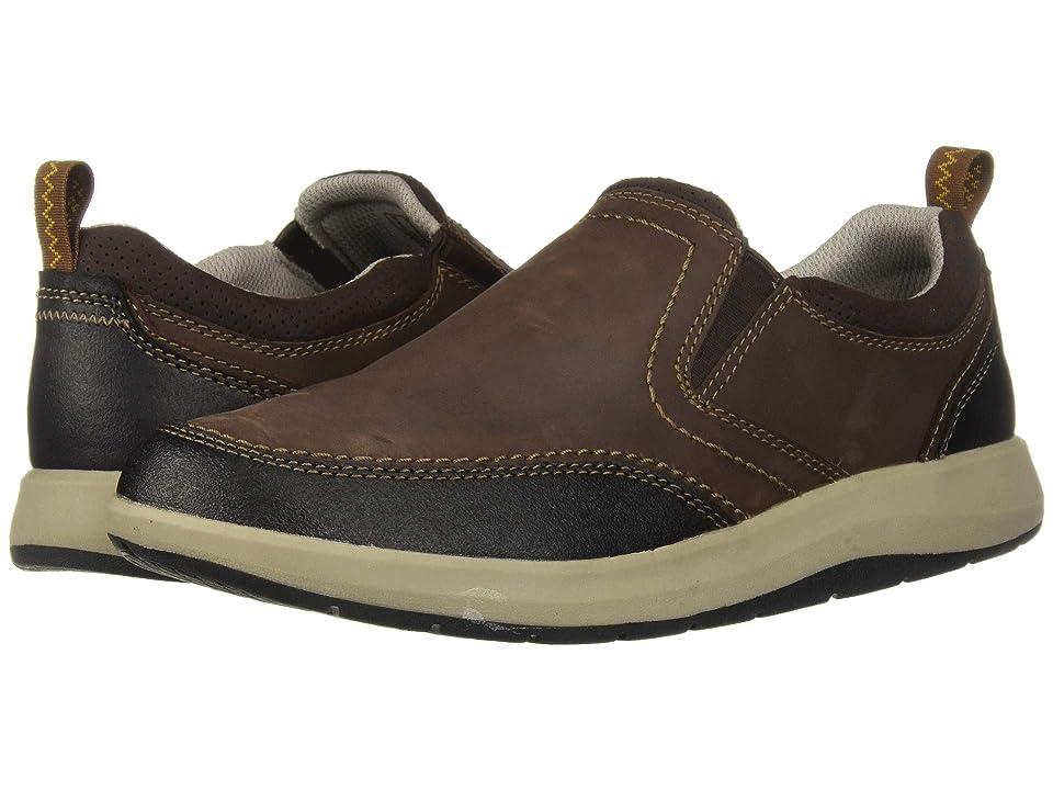 Clarks Shoda Race II (Brown Waterproof Leather) Men