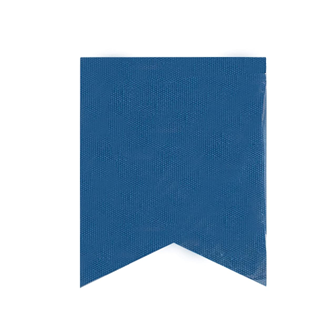 Darice Fishtail Design Canvas Banner Flags in Navy