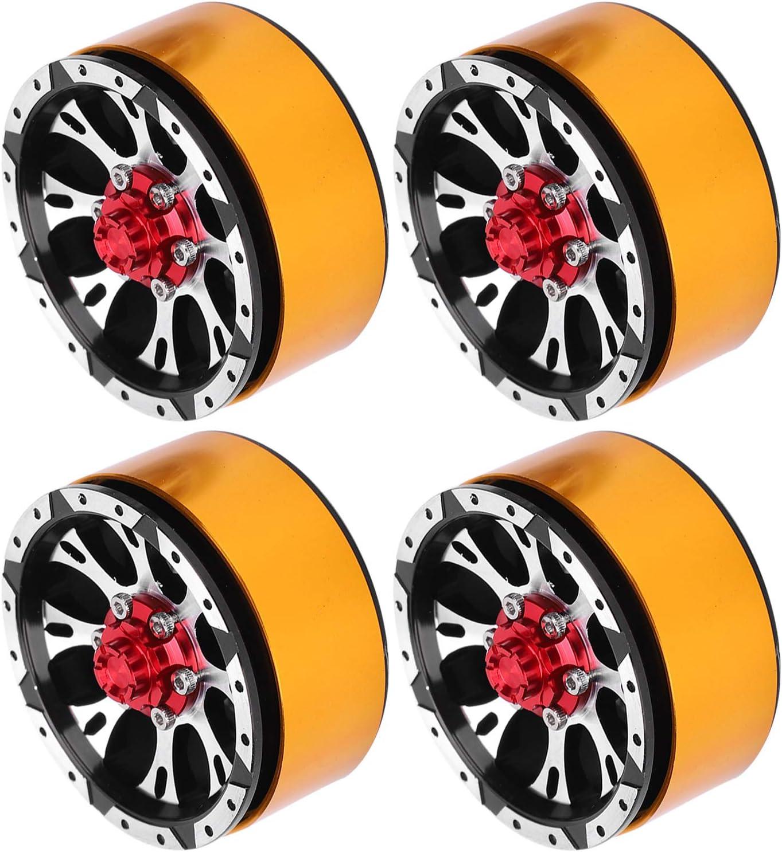 CUTULAMO Max 75% OFF 1 Excellent 10 RC Wheel Hub Hubs CNC Impr Car Accessory