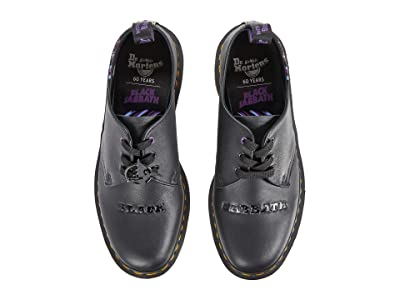 Dr. Martens 1461 (White Backhand/Black Backhand/Black Smooth) Industrial Shoes