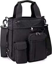 AMJ Small Shoulder Messenger Bag Crossbody Business Laptop Multifunctional Pocket Bags for Travel School Work Men & Women
