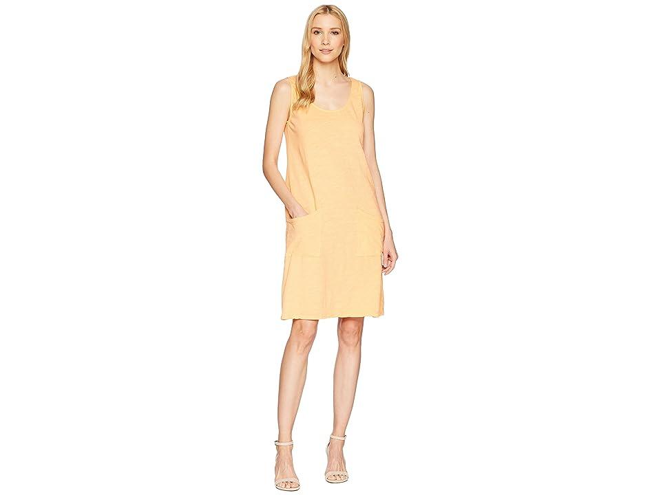 Fresh Produce Drape Dress (Tangerine) Women