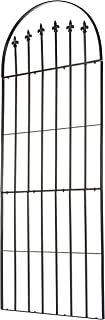 H Potter Trellis Garden for Climbing Plants Wrought Iron Metal Weather Resistant Deck Patio Wall Art Model Gar526
