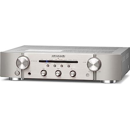 マランツ Marantz プリメインアンプ PM6007 92kHz/24bit対応/デジタル入力対応 シルバーゴールド PM6007/FN