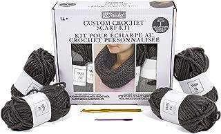 crochet scarf kit