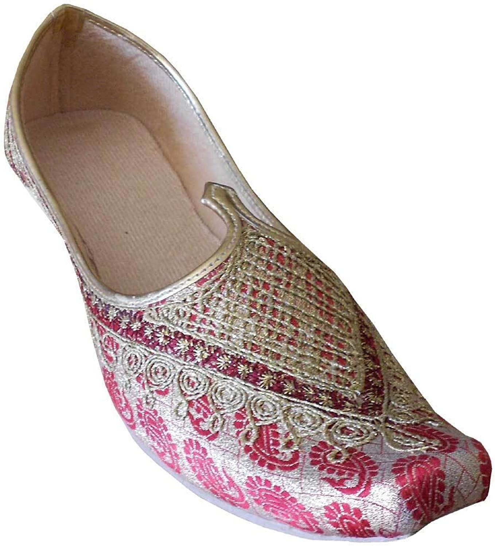 Kalra Creations Traditional Indian Men shoes Flip-Flops Handmade Punjabi Khussa Juti