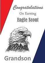 Eagle Scout Congratulations Card: Grandson Special