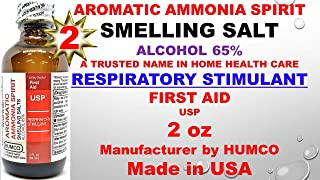 Humco Aromatic Ammonia Spirit USP 2 oz (Pack of 2)