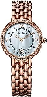 Women's Dress Watch Quartz Analog Rhinestone Watch with Stainless Steel Bracelet