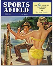 LSA Brand Sports Afield Fishing Beauty Cover - 11x14 Unframed Print - Makes a Great Lake House, Beach House, Cabin Decor or Gift for Fishermen