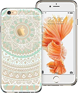 ESR Case Compatible for iPhone 6/6s, Pattern Design Slim Clear Case with Soft TPU Bumper+Hard PC Back Cover for 4.7
