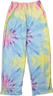 iscream Big Girls Silky Soft Plush Fleece Pants - Boho Bliss Collection