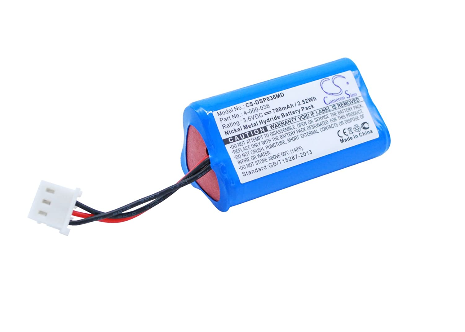 Drummond Finally resale start Scientific 4-000-036 Replacement Battery Excellence Ni-MH for Port