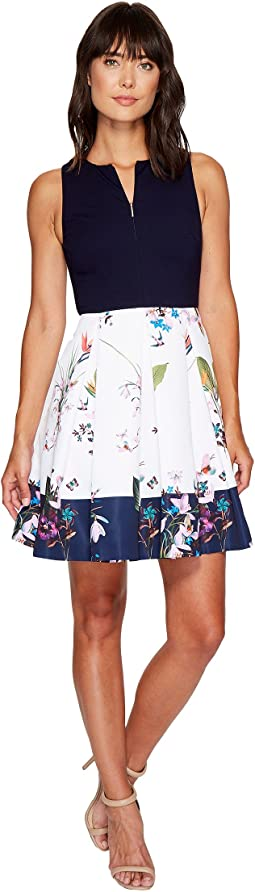 Ted Baker - Petali Tropical Oasis Bodice Dress