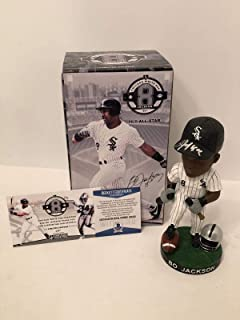 Bo Jackson Signed Baseball/Football White Sox Bobblehead *Breaking Bats Beckett - Beckett Authentication