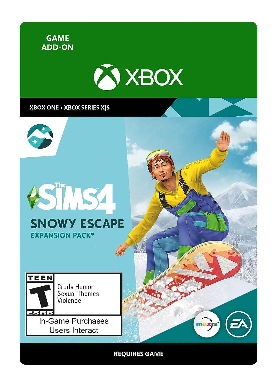 The Sims 4 - Snowy List price Escape Code Xbox Sacramento Mall Digital One