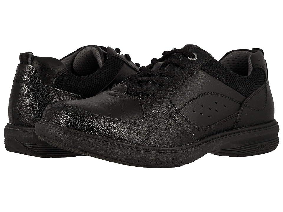 Nunn Bush Kore Walk Moc Toe Oxford (Black) Men