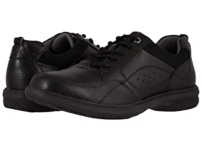 Nunn Bush Kore Walk Moc Toe Oxford (Black) Men