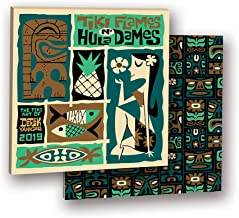 Orange Circle Studio 2019 Album Wall Calendar, Derek Yaniger Tiki Flames n' Hula Dames