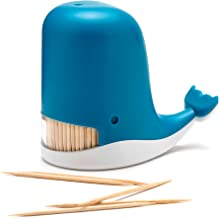 PELEG DESIGN Jonah Toothpick Dispenser, Whale Toothpick Dispenser, Funny Portable Plastic Toothpick Holder, Unique Gift Idea
