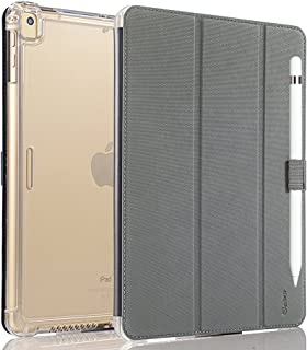 Valkit Case for iPad Air (3rd Gen) 10.5'' 2019, iPad Pro 10.5'' 2017, Smart Stand Protective Heavy Duty Rugged Impact Resistant Armor Cover for iPad Air 3 10.5 Inch 2019[Auto Sleep/Wake], Grey