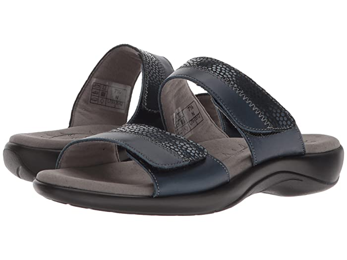 SAS Nudu Slide (Navy) Women's Slide Shoes