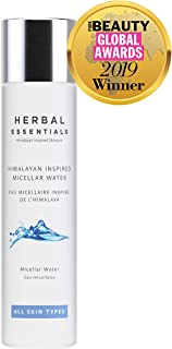 Herbal Essentials Himalayan Inspired Micellar Water, Formulated With Our Unique Himalayan Spring Water Bursting With Calcium, Magnesium & Potassium, Premium Skincare 150ml