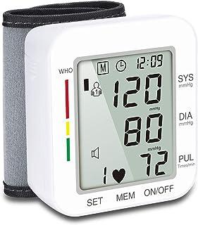 azorex Tensiómetro de Brazo Digital con Detección de Arrítmia y Gran Pantalla LED con Escala de Color Indicador
